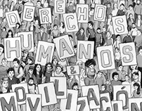 Poster for Human Rights' NGO 'Martín Hernández'
