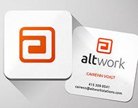 Altwork Identity by DK Design Studio