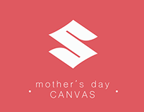"Suzuki Campaign "" Mother's Day "" for Facebook ( Canvas)"