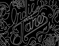 Indie Janes: Branding Brainstorming Collection