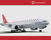 Air Macedonia - Branding (experimental project)