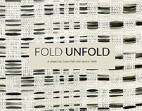 Fold Unfold, art exhibit book design