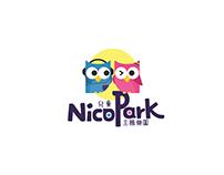 兒童主題樂園logo design