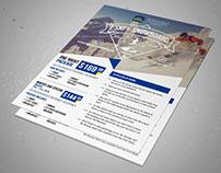 Ski & Snowboard Package Flyer Design