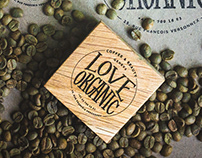 Love Organic Geneva. Branding and Chalkboard Lettering