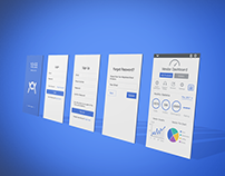 Vendor Dashboard Mobile App. Design
