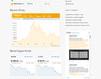 Prices Page - Cryptocurrency WordPress Theme