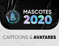 MASCOTES 2020 - CARTOONS & AVATARES