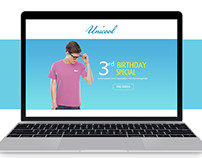 Unicool, Bewakoof birthday special page.
