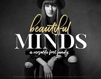 Beautiful Minds Font Family