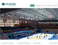 Inplantar Sustentável Website