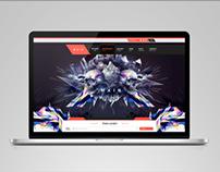 MAIN web site & graphic design