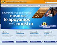 Empresa Electrica Guatemala Web