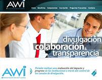 AWI - Administrador Web Institucional