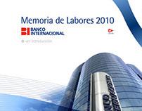 Banco Internacional Presentacion Interactiva