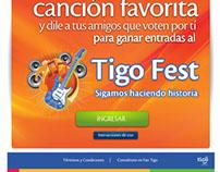 Tigo Music Fest Facebook App
