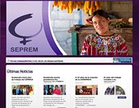SEPREM Guatemala Web