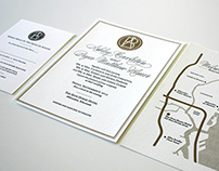 Wedding Logo & Invitations