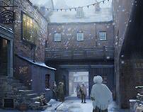 Victorian Winter Scene
