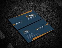 Unique professional business card