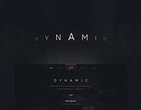 Dynamic - Landing page