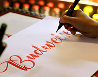 Budweiser Live Calligraphy
