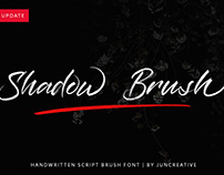 FREE | Shadow Brush Handwritten Font