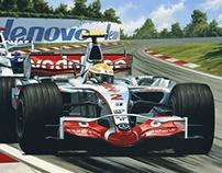Formula One, Lewis Hamilton & McLaren