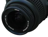Nikon Camera Rendering