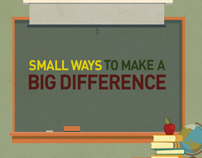 Small Ways to Make a Big Difference