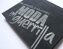 MODA en Guerrilla - Libro de Tesis
