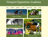 Newport Equestrian Academy Website