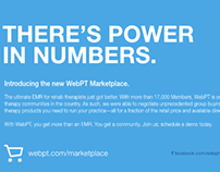 WebPT Marketplace Launch Campaign