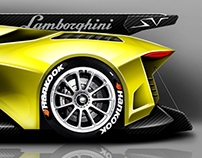 Lamborghini concept - Performante version