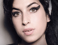 Art Direction & Design for Amy Winehouse book cover