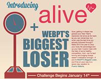 WebPT Employee Fitness Challenge Flyer