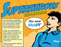 WebPT Superhero Campaign