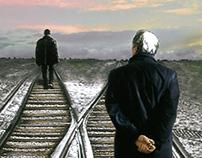 "Poster de ""Perdido"" de Haroldo Conti"