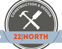 22 North Logo Design