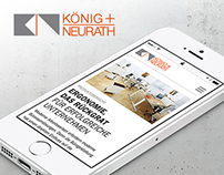 König & Neurath // Relaunch website