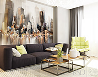 Design from KSD: Interior for Apartment