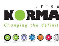 Uptown Normal Branding