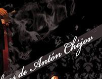 Afiches para obras de Antón Chéjov