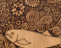 TOMOT Woodburning works