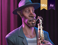 Jazz Coffee Animation