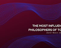 The Most Influential Philosophers of Today
