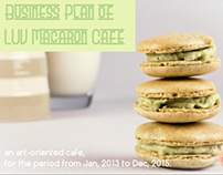 Business Campaign Slide Show_ Macaroon Cafe