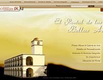 Portal de las Bellas Artes Web