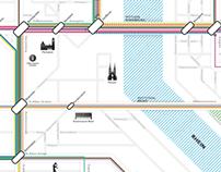 Basel public transportation info-graphic Process docu