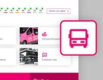 Envibus - Webdesign (work in process)